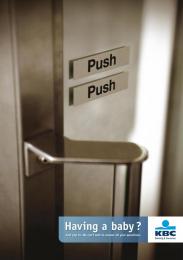 Kbc: PUSH PUSH Print Ad by VVL BBDO Brussels