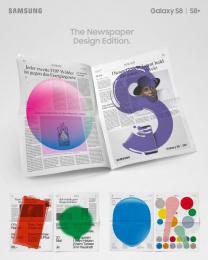 Samsung: The Newspaper Design Edition, 4 Print Ad by Jung Von Matt/Limmat Zurich