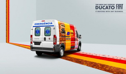 Fiat: Van Print Ad by Leo Burnett Tailor Made Sao Paulo