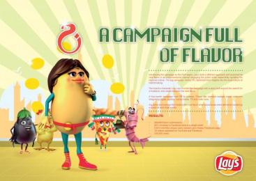 Lays: DO US A FLAVOR Promo / PR Ad by Impact Porter Novelli Saudi Arabia