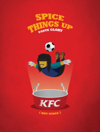 Kentucky Fried Chicken (KFC): Scorpion Print Ad by Frank and Fame