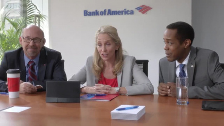 Bank Of America: Conference Film by Go Films, Hill Holliday
