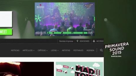 Heineken: Heineken Concierto Interactivo En Banner Case study by FCB Madrid