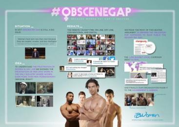 IBWOMEN: Obscene Gap [image] Digital Advert by McCann Madrid, Lee Films