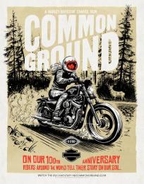 Harley-Davidson: Poster, 3 Print Ad by Zulu Alpha Kilo, Zulubot