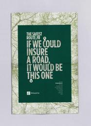 Groupama: Road Print Ad by Kuest Prod, Marcel Paris, Prodigious