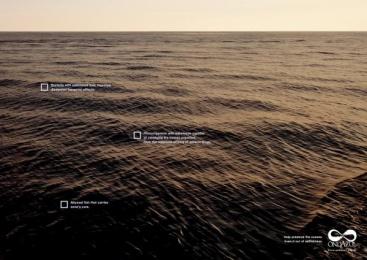Fundacao Ondazul: Selfishness 2 Print Ad by Que Comunicacao