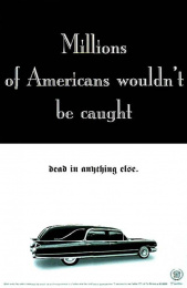 Cadillac: MILLIONS OF AMERICANS Print Ad by Dmb&b
