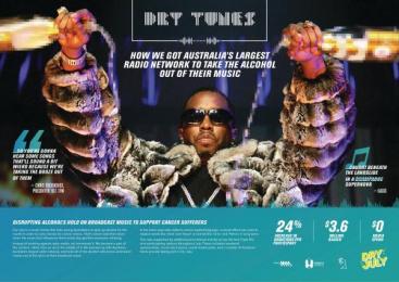 DRY JULY: Drytunes [image] Case study by Clemenger BBDO Sydney