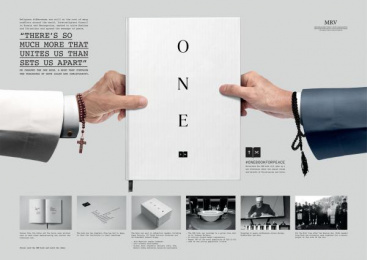 onebookforpeace.org: One Book For Peace [image] 3 Digital Advert by New Moment New Ideas Company Belgrade, Y&R Dubai