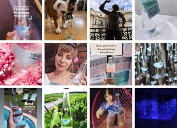 Found: #THE100KINITIATIVE, 2 Print Ad by The Refreshment Club