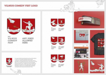Vilnius comedy fest: VILNIUS COMEDY FEST LOGO Design & Branding by Not Perfect | Y&R Vilnius