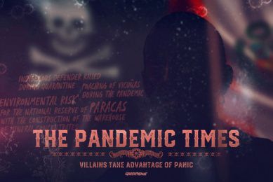 Greenpeace: The Pandemic Times - Peru Print Ad by Lion Heart