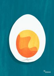 Vepsalainen Oy: Egg, Arne Jacobsen (1958) Print Ad by Hasan & Partners Helsinki