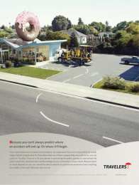 Travelers: DONUT Print Ad by Fallon Minneapolis