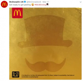McDonald's: Monopoly Wiiiin!, 3 Digital Advert by The Marketing Store