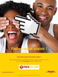 DHL Postal Services: Faites-vous plaisir, 2 Print Ad by bouche a oreille
