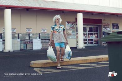 Aruba: Supermarket Print Ad by MullenLowe SSP3 Bogota