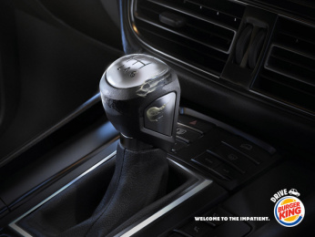 Burger King: Drive, 1 Print Ad by Buzzman Paris