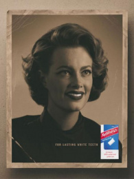 Xylifresh Chewing Gum: WOMAN I Print Ad by S-w-h