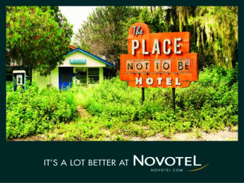 Novotel: The place not to be Print Ad by TBWA Paris