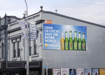 DB Export: Brewtroleum, 14 Outdoor Advert by Colenso BBDO Auckland, Scoundrel