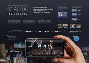 xfinity: xfinity Digital Advert by Goodby Silverstein & Partners San Francisco, Thinking Machine