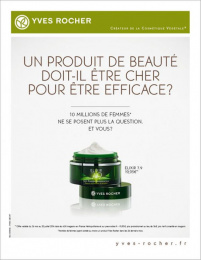 Yves Rocher: YVES ROCHER, 1 Print Ad by M&C Saatchi Paris