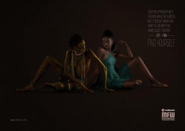 Vodacom Mozambique Fashion Week: Closet Print Ad by DDB Maputo