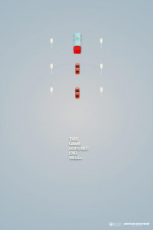 Movicenter: Champagne Print Ad by Inbrax Santiago