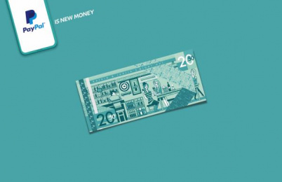 PayPal: PayPal is New Money, 3 Print Ad by Havas Worldwide Dusseldorf