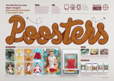 Bepanthen: Pooster [image] Digital Advert by J. Walter Thompson Sao Paulo, Landia