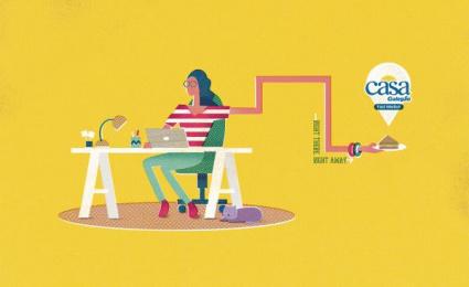 Casa Galegao: Sandwich Print Ad by Seven Comunicação Total