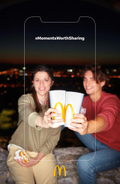 McDonald's: Moments Worth Sharing, 4 Print Ad by DDB Athens