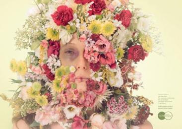 Aefi Spanish Florist Association: Green Print Ad by Y&R Madrid