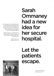 Havas: Healthcare Heroes, 4 Print Ad by Havas Lynx Manchester