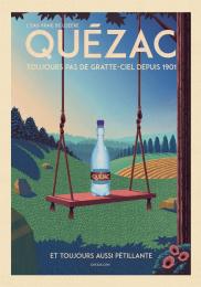 Quezac: The Swing Print Ad by Change Paris