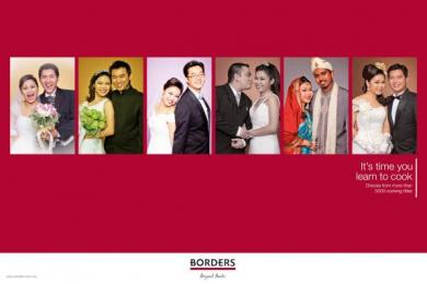 Borders Bookstore: Husbands Print Ad by McCann Erickson Kuala Lumpur
