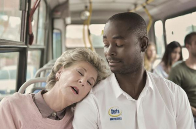 Serta: Bus Print Ad by Ogilvy & Mather Honduras