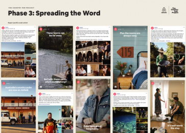 Airbnb: The Country Pub Project - Phase 3: Spreading the Word - Region-specific content Print Ad by Airbnb / San Francisco