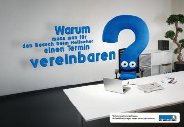 Neue Aargauer Bank: Clairvoyant Print Ad by Euro Rscg Zurich