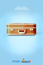 Gollo: Happy Luggage, 1 Print Ad by McCann San José