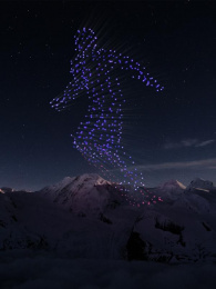 Intel: Intel Drone Light Show At The Olympics [Supporting Images] 9 Ambient Advert