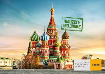 Xella: Building Times – Kremlin Print Ad by Heimat Wien