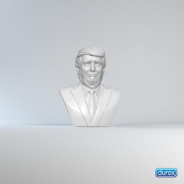 Durex: Trump Print Ad by Centre of Excellence in Art & Design - MUET Jamshoro