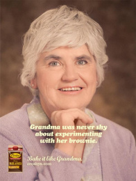 Crosby's Fancy Molasses: Grandma's Brownie Print Ad by Taxi Toronto