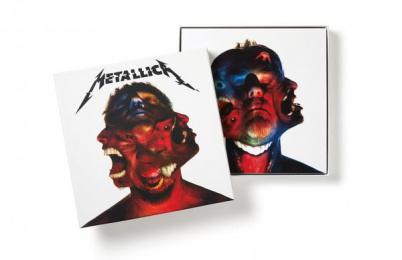 Metallica: METALLICA HARDWIRED TO SELF-DESTRUCT ALBUM DESIGN, 2 Design & Branding by Turner Duckworth: London & San Francisco