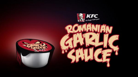 Kentucky Fried Chicken (KFC): Romanian Garlic Sauce [image] Print Ad by MRM Bucharest, UM