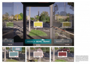 Reno-Depot: Street Swatches [image] Outdoor Advert by Sid Lee Montreal