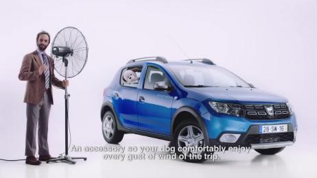 Dacia Sandero: Dog Cruiser Window Support Film by Publicis Lisbon